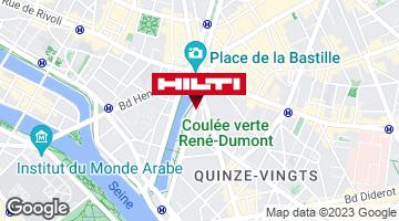 Get directions to Espace Hilti - La plateforme du bâtiment - Paris 12e