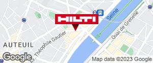 Espace Hilti - La Plateforme du Bâtiment - Paris 16e