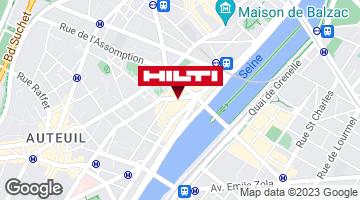 Espace Hilti - La Plateforme du Bâtiment - Paris 15ème