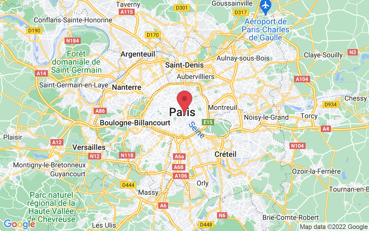 Plan de la ville de Paris 4e Arrondissement