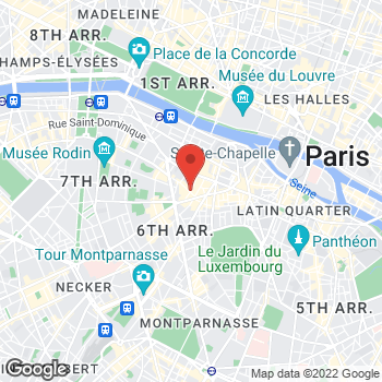 Map of Salvatore Ferragamo at 68/70 Rue des Saints-Pères, Paris, Paris 75007