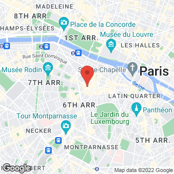 Map of Salvatore Ferragamo at 14 Rue de Grenelle, Paris, Paris 75008