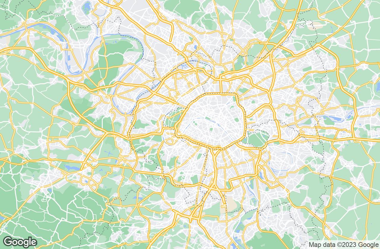 Google Map of باريس