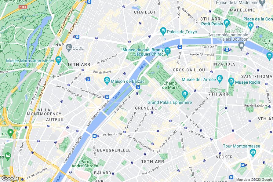 Hotel eiffel seine paris review photos for Paris hotel map