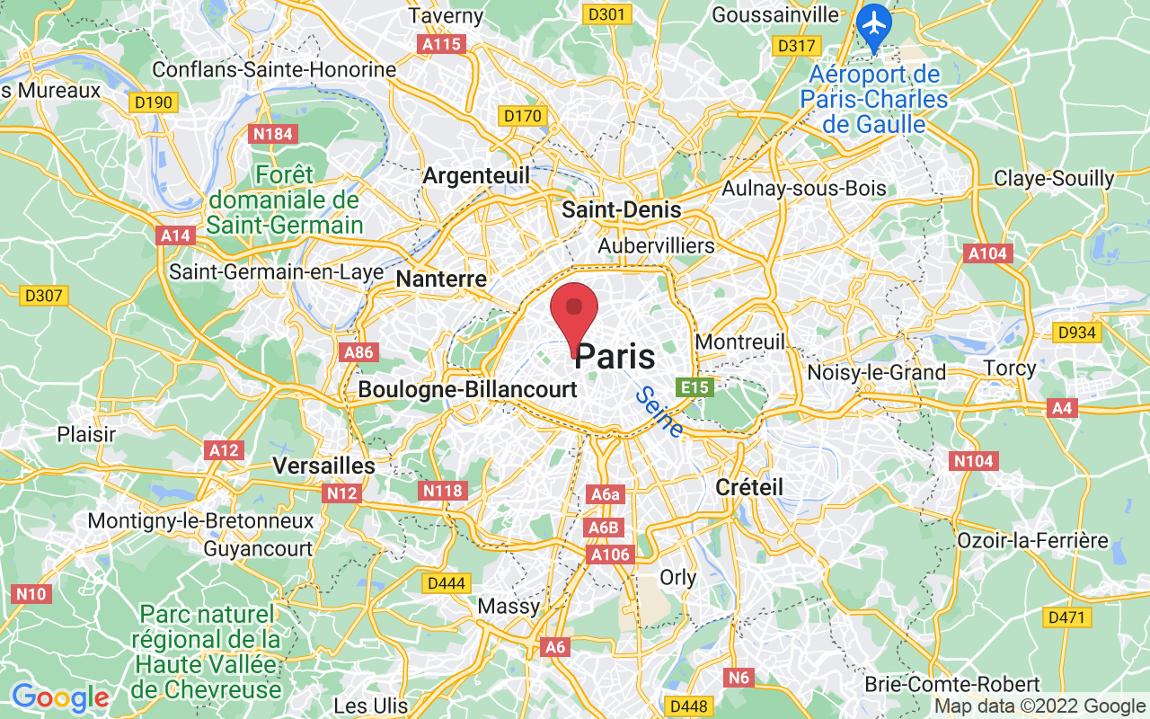 Plan de la ville de Paris 7e Arrondissement