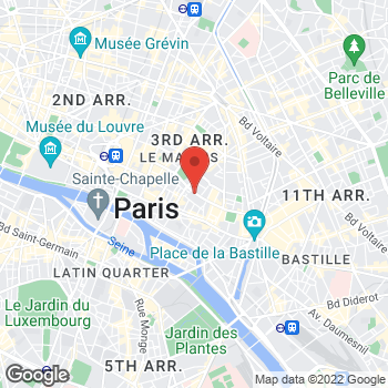 Map of Michael Kors at 41 Rue Des Francs Bourgeois, Paris, Paris 75004