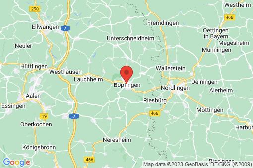 Karte Bopfingen