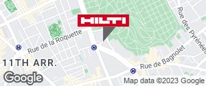 Espace Hilti - La Plateforme du Bâtiment - Paris 20ème Charonne