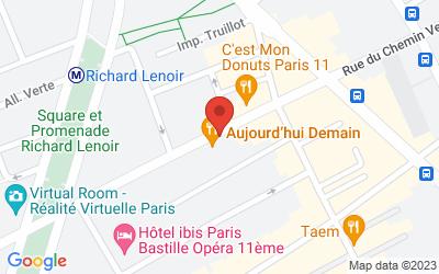 44 Rue du Chemin Vert, 75011 Paris, France