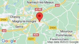 Carte de localisation du centre de contrôle technique CRECY LA CHAPELLE