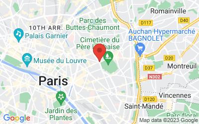 Avenue de la République, Paris, France