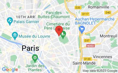 3 avenue Gambetta, 75020 Paris, France