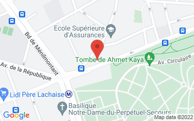 3 avenue Gambetta, 75020 Paris, France