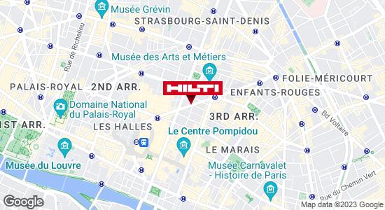 Get directions to Espace Hilti - La Plateforme du Bâtiment - Paris 3ème