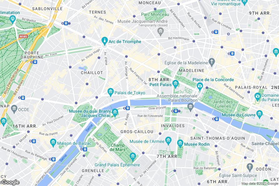 Melia royal alma hotel paris review photos for Paris hotel 8th arrondissement