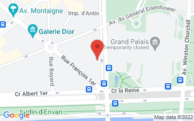 9 Avenue Franklin Delano Roosevelt, 75008 Paris, France