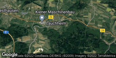 Google Map of Lauchheim