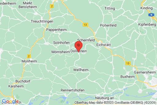 Karte Dollnstein