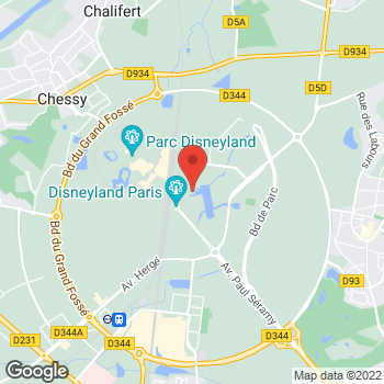 Map of Earl of Sandwich at 5 Disney Village, Marne-la-Vallée Chessy, France 77700