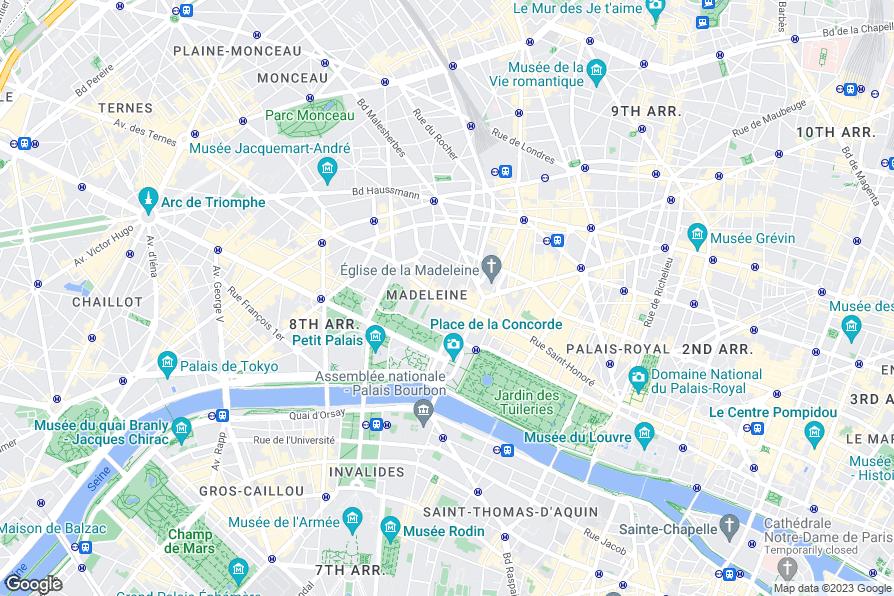 Hotel de castiglione paris review photos for Paris hotel 8th arrondissement