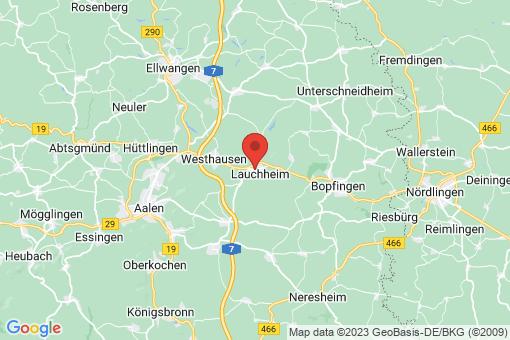 Karte Lauchheim