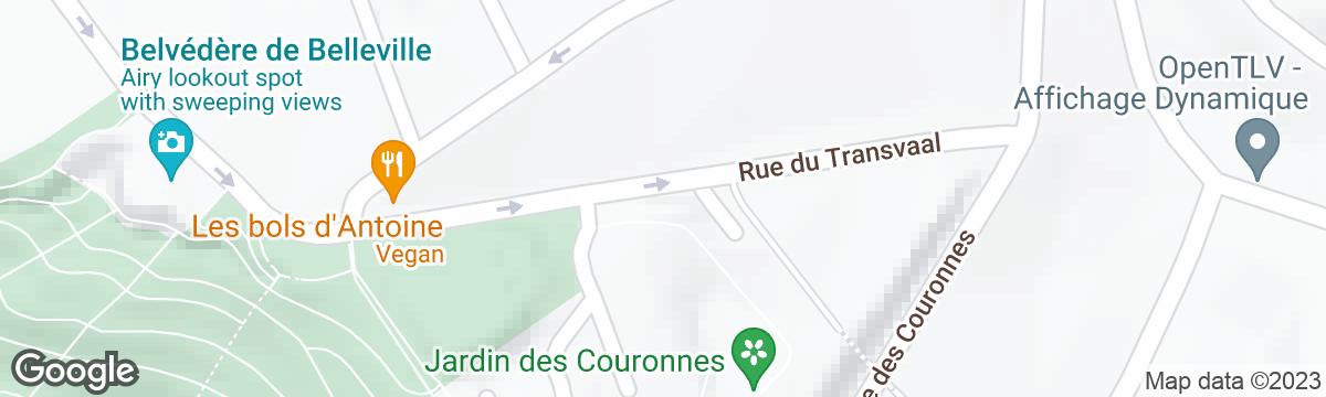 Terrain de sport - square Alexandre-Luquet