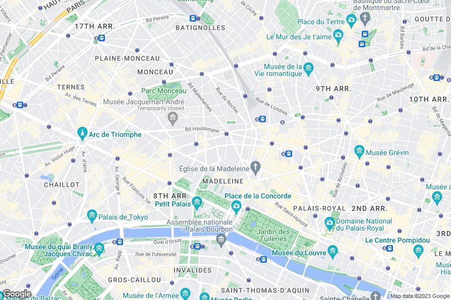 Maison astor paris curio collection by hilton for Paris hotel 8th arrondissement
