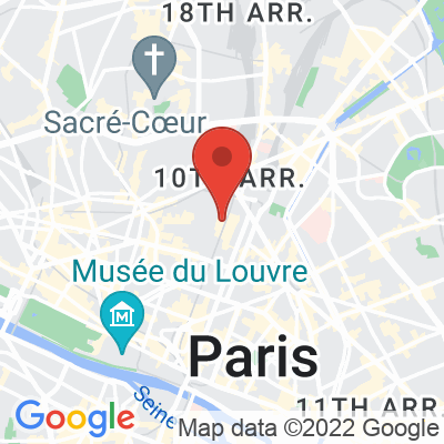 Map showing Coutume/Les Ateliers