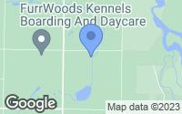 Map of Everson, WA