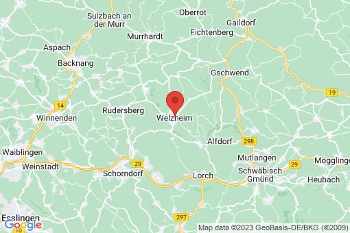Karte Welzheim