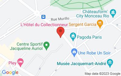 L'Hôtel du Collectionneur 51-57 Rue de Courcelles75008 Paris