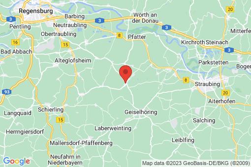 Karte Sünching
