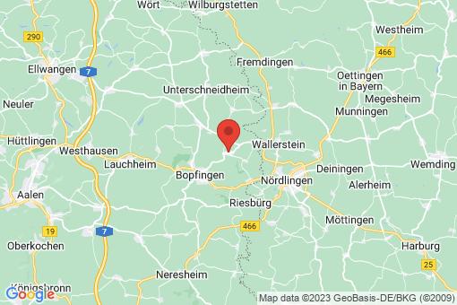 Karte Kirchheim am Ries