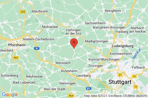 Karte Eberdingen