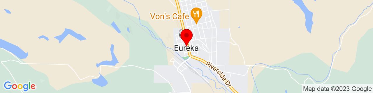 Google Map of 48.8799647, -115.0535001