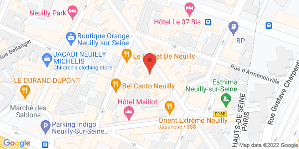 Carte de Lola Jones NEUILLY