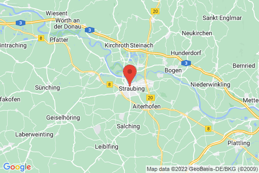 Karte Straubing