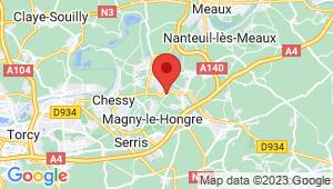 Carte de localisation du centre de contrôle technique MONTIER EN L ISLE