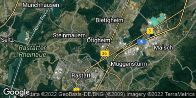 Google Map of Ötigheim