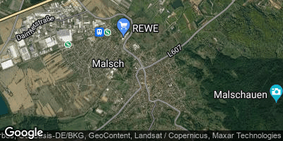 Google Map of Malsch