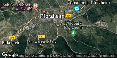 Google Map of Wilferdinger Höhe