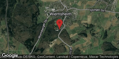 Google Map of Wiernsheim