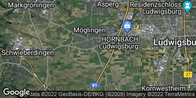 Google Map of Möglingen