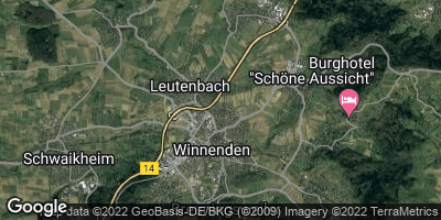 Google Map of Leutenbach