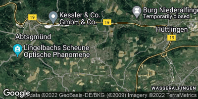 Google Map of Fachsenfeld