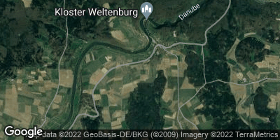 Google Map of Staubing