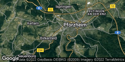 Google Map of Brötzingen