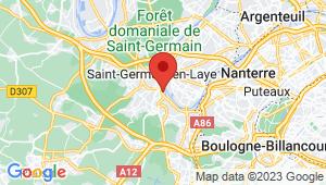 Carte de localisation du centre de contrôle technique LE PORT MARLY