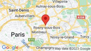 Carte de localisation du centre de contrôle technique ROSNY SOUS BOIS