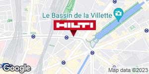 Espace Hilti - La Plateforme du Bâtiment - Paris 18ème